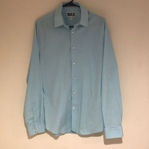 Express Men's Long Sleeve Dress Shirt.